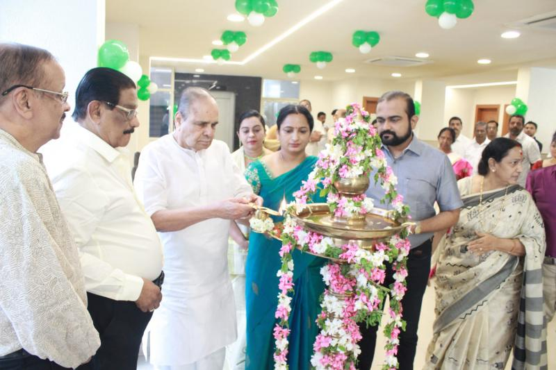 Inauguration of Trinity Eye Clinic